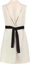 Brunello Cucinelli Belted Cotton-Blend Bouclé Vest