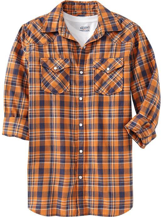 Old Navy Men's Western Shirts