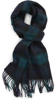 Nordstrom Men's 'Blackwatch' Plaid Wool Scarf