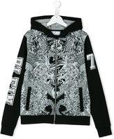 Philipp Plein printed hoodie - kids - Cotton - 14 yrs