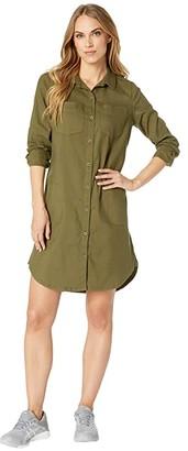 Prana Yarrow Dress (Cargo Green) Women's Dress
