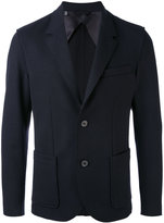 Lanvin blazer jacket - men - Cotton/Polyamide/Spandex/Elastane/Wool - 48