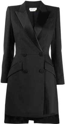 Alexander McQueen Double-Breasted Blazer Dress