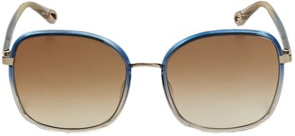 Chloé Franky Oversize Squared Sunglasses