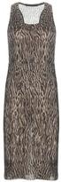 Haider Ackermann Printed wool-blend dress