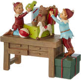 Lenox Once Upon A Xmas Elves At Work Fig