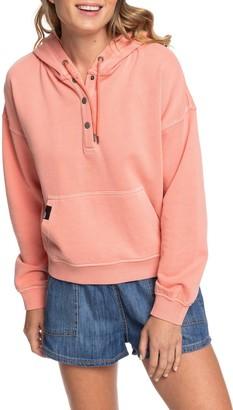 Roxy Girls Who Slide Hooded Sweatshirt