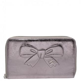 Chanel Metallic Leather Wallets
