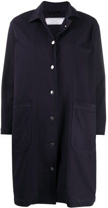 Societe Anonyme Patch-Pocket Car Coat