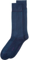 Alfani Men's Grid-Pattern Socks, Created for Macy's