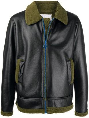 Soulland Max faux-shearling jacket