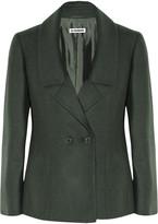 Jil Sander Monet wool and angora-blend jacket