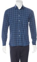 Ovadia & Sons Plaid Woven Shirt