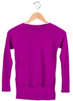 Autumn Cashmere Girls' Wool and Cashmere-Blend Sweater
