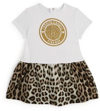 Roberto Cavalli Junior Leopard Print Dress (3-36 Months)