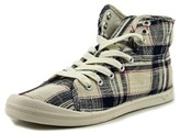 Roxy Rory Mid Round Toe Canvas Sneakers.