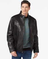 Tommy Hilfiger Smooth Leather Jacket