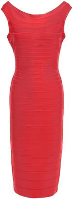 Herve Leger Ardell Open-back Bandage Dress