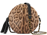Jerome Dreyfuss Remi Leopard-print Calf Hair And Leather Shoulder Bag - Leopard print