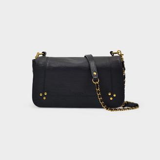 Jerome Dreyfuss Bobi Handbag In Black Goat Leather