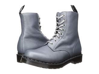 Dr. Martens 1460 Pascal Metallic (Gunmetal Metallic Virginia) Women's Shoes