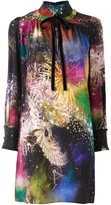 Roberto Cavalli 'Fireworks' dress - women - Silk - 40