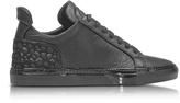 Ylati Amalfi Low 2.0 Black Diamonds Leather Men's Sneaker