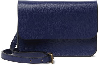 Melrose and Market Carrie Wos Leather Crossbody
