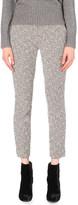 Diane von Furstenberg Larina tapered stretch-cotton trousers