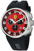 Ferrari F1 Podium Swiss Made Men's Red Dial Chronograph Watch FE-10-ACC-CG/FC-RD