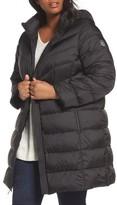 MICHAEL Michael Kors Plus Size Women's Packable Down Long Coat
