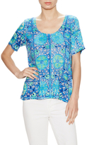 Plenty by Tracy Reese Back Tie Graphic Top