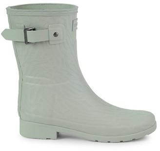 Hunter Textured Rubber Rain Boots