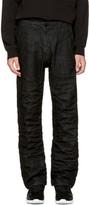 Raw Research Black Lanc Chino Jeans