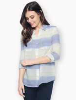 Splendid Ocean Park Stripe Shirt