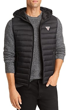 GUESS Slim Fit Puffer Vest