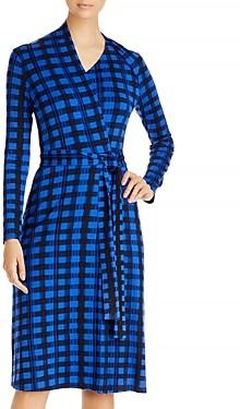 HUGO BOSS Ettay Printed Wrap Dress