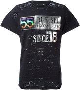Diesel printed motif T-shirt - men - Cotton/Nylon - L