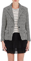 Etoile Isabel Marant Women's Layden Tweed Single-Button Blazer-BLACK