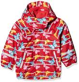 Sterntaler Baby Girls' Regenjacke Mit Innenjacke Waterproof Jacket,12-18 Months