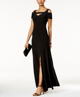 Thumbnail for your product : Nightway Cold-Shoulder Keyhole Gown