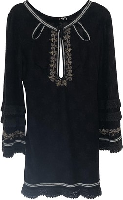 Free People Black Synthetic Dresses