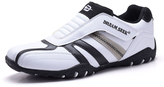 White & Black Slip-On Sneaker