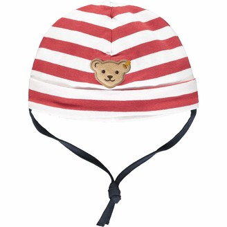 Steiff Baby Boys' Mit Suer teddybarapplikation Hat