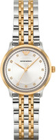 Emporio Armani AR1963 gold-plated stainless steel watch