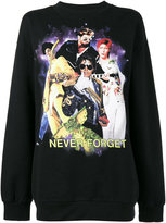 Filles a papa EXCLUSIVE Never Forget Printed Sweatshirt