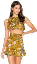 Zimmermann Tropicale Flutter Tank in Yellow. - size 1 / S (also in 2 / M)