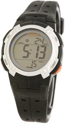 Dunlop Womens Digital Quartz Watch with Rubber Strap DUN-96-L07