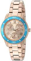 Invicta Women's 'Angel' Quartz Stainless Steel Watch, Color:Rose Gold-Toned (Model: 21769)