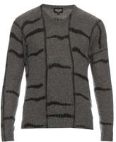 Giorgio Armani Tie-dye Cashmere-knit Sweater